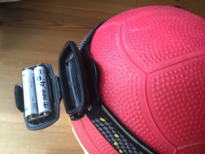 ジェントスLH-560電池交換
